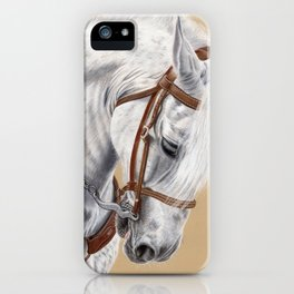 Horse Portrait 01 iPhone Case