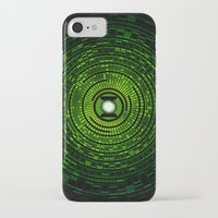 green lantern iPhone & iPod Cases featuring Green Lantern by Electra
