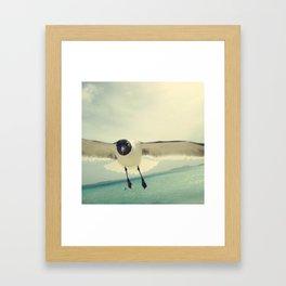 bird 3/3 by akashidan Framed Art Print