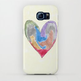 Abstract Heart iPhone Case