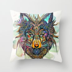 Aligning Hearts Throw Pillow
