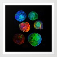 planets Art Prints featuring planets by clemm