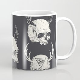skulls & horns Coffee Mug