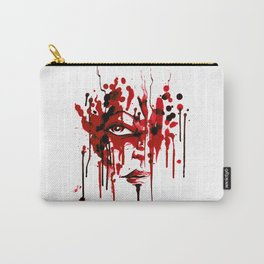 Encres rouge Carry-All Pouch