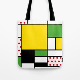 Mondrian – Bycicle Tote Bag
