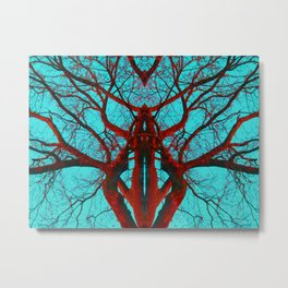 Can you believe what life can come from a tree? Metal Print