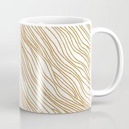Metallic Wood Grain Coffee Mug