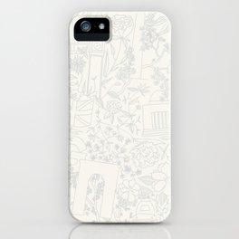 DC NYC London - Cream iPhone Case