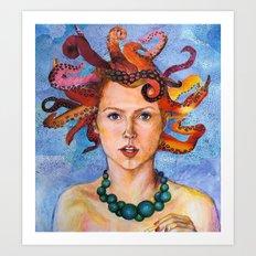 Alter-Ego Self Portrait #3 Art Print