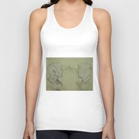 true detective Tank Tops featuring TRUE DETECTIVE by Tomcert