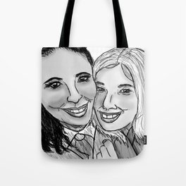 EMILIA AND MARIE  Tote Bag