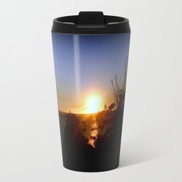Dusk over Lakes Entrance Travel Mug