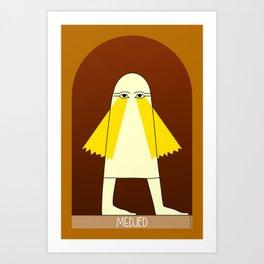 Medjed Art Print