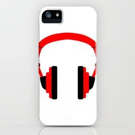 Pair Of Headphones iPhone Case