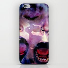 plaque iPhone Skin