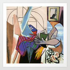 Mixed Picasso · 2 Art Print