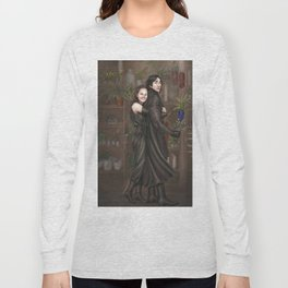 Among all the flowers Long Sleeve T-shirt