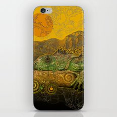 Just Chilling and Dreaming...(Lizard) iPhone & iPod Skin