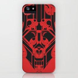 SkullHead 02 iPhone Case