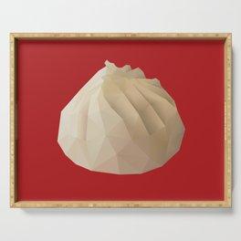 Xiao Long Bao polygon art Serving Tray