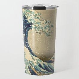 The Great Wave - Katsushika Hokusai Travel Mug