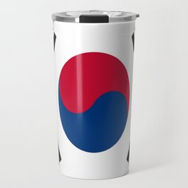Flag of south korea Travel Mug