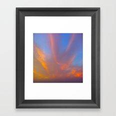 Sun and Sky Framed Art Print