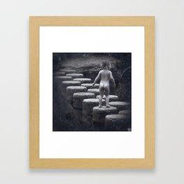 No Inhibitions Framed Art Print