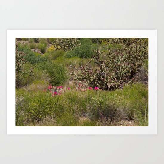 Painted Desert - VI Art Print