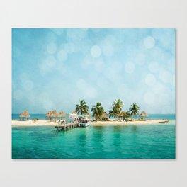Rendezvous Caye Canvas Print