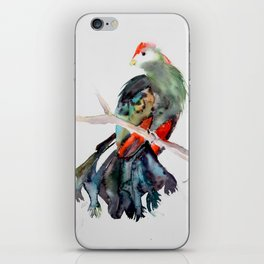 Red-crested Turaco iPhone Skin