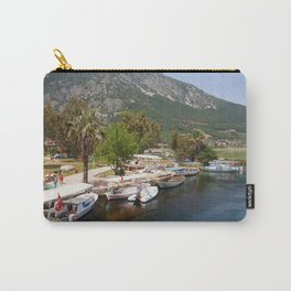 Fishing Boats on The River Azmak Akyaka Turkey Carry-All Pouch