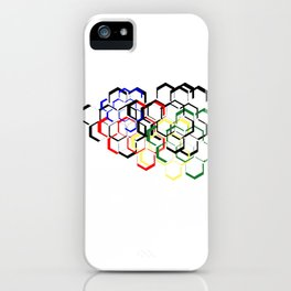 Hexa Hex iPhone Case