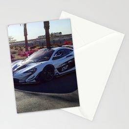 McLaren's Chris Goodwin and McLaren P1 GTR Stationery Cards