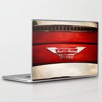 austin Laptop & iPad Skins featuring Austin Healey by Anna Dykema Photography