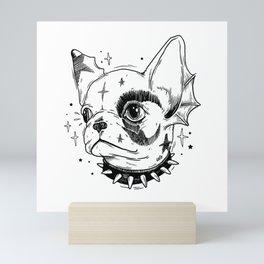 HELL PUPPY Mini Art Print