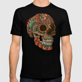 Ornate Skull (Color Version) T-shirt