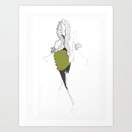 La Mode 2 Art Print