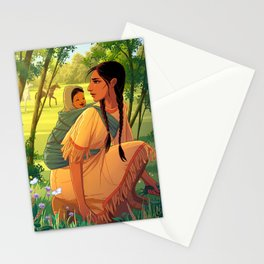 Sacagawea Stationery Cards