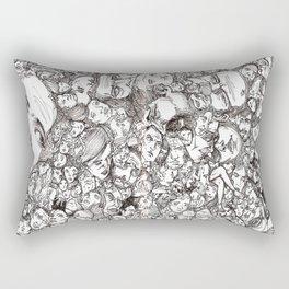 People-B Rectangular Pillow
