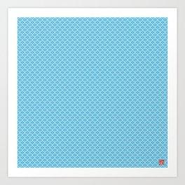 Pattern #3-Zoom Art Print