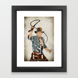 Indie Framed Art Print