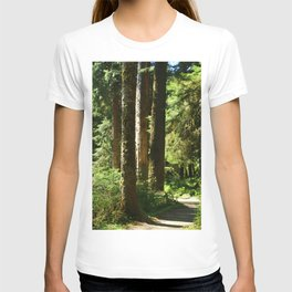 Walkway in Hoh Rainforest T-shirt