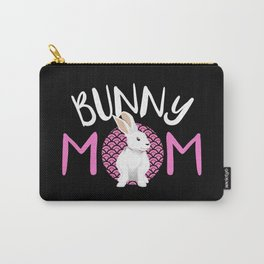 Bunny Rabbit Wabbit Bunnies Mom Lady Pet Lop Gift Carry-All Pouch