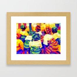 Igbeyawo [Traditional Wedding] Framed Art Print