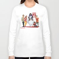 1d Long Sleeve T-shirts featuring Big 1D 6! by justsomestuff