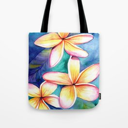 Blooming Plumeria 5 Tote Bag