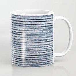 Watercolor Shibori Zebra Stripes Coffee Mug