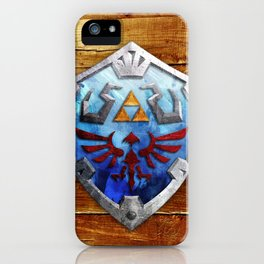 The Hylian Shield iPhone Case