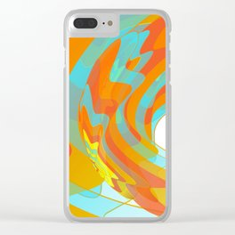 Along for the Ride Clear iPhone Case
